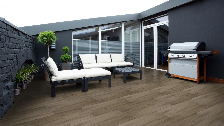 Wood Dark Brown 45x90
